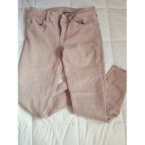 AE Blush Light Pink Cropped Jeggings